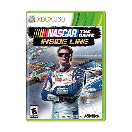 Jogo NASCAR The Game: Inside Line - Xbox 360