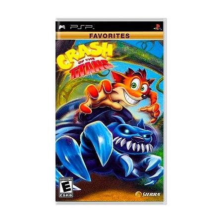 Jogo Crash of the Titans - PSP