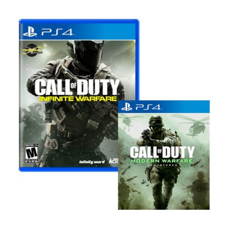 Jogo Call of Duty: Infinite Warfare + Call of Duty 4: Modern Warfare Remastered (Mídia Digital) - PS4