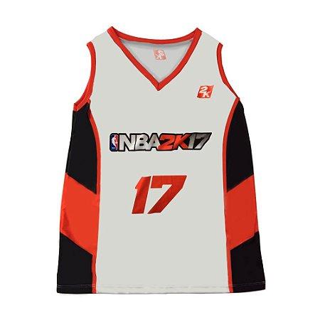 Regata NBA 2K17 Branca
