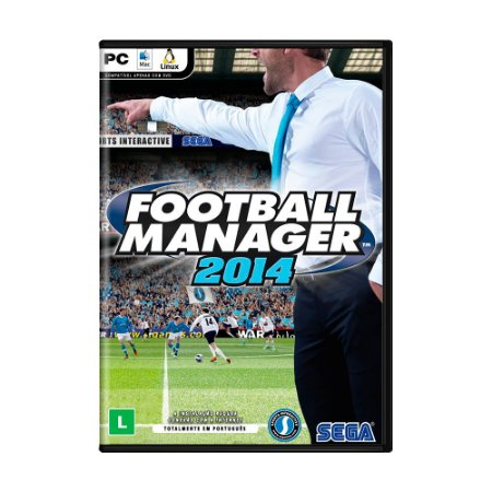 Jogo Football Manager 2014 - PC
