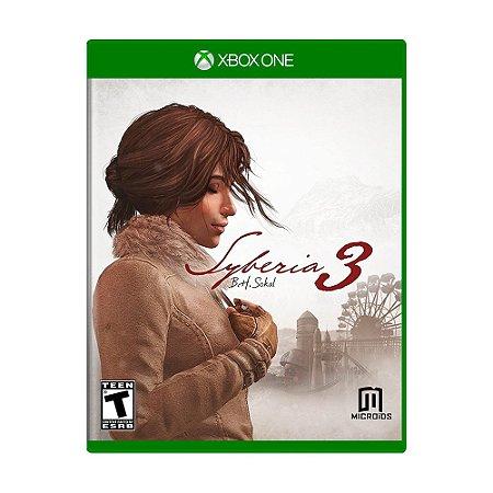 Jogo Syberia 3 - Xbox One