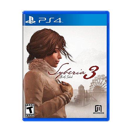 Jogo Syberia 3 - PS4