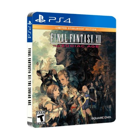 Jogo Final Fantasy XII: The Zodiac Age (Limited Steelbook Edition) - PS4
