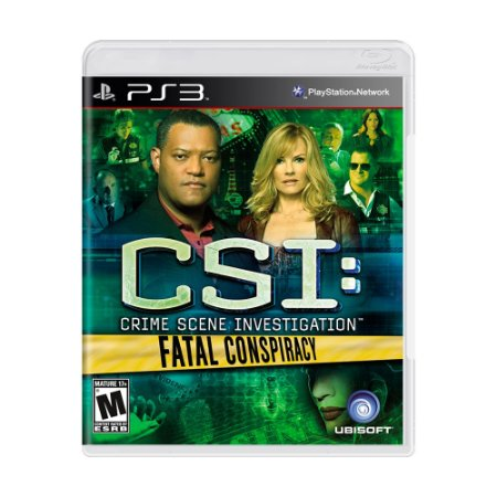 Jogo CSI: Fatal Conspiracy - PS3