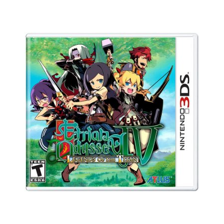 Jogo Etrian Odyssey IV: Legends Of The Titan - 3DS