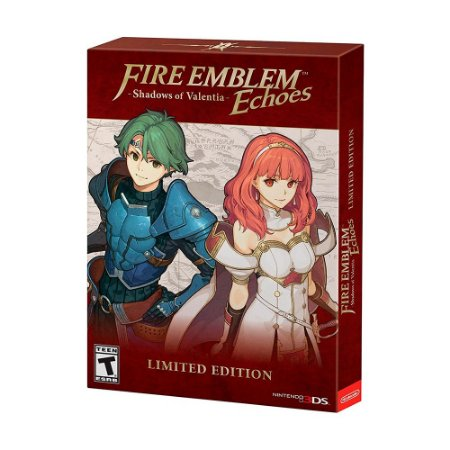 Jogo Fire Emblem Echoes: Shadows of Valentia (Limited Edition) - 3DS