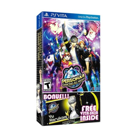 Jogo Persona 4: Dancing All Night - PS Vita