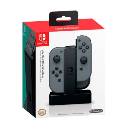 Joy-Con Charging Dock PowerA Preto - Switch