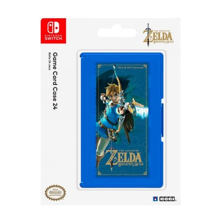 Porta Jogos The Legend of Zelda (Game Card Case 24) Hori - Switch
