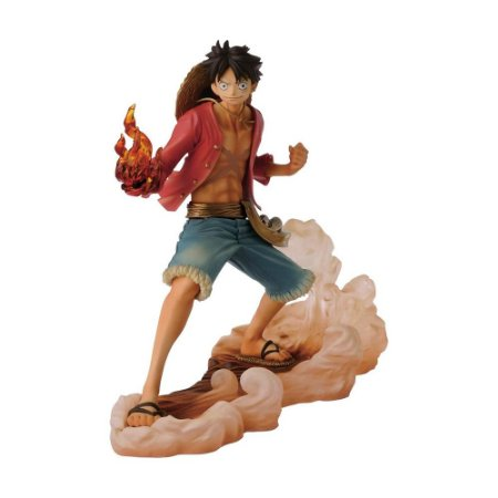Action Figure Monkey D. Luffy DXF Brotherhood II One Piece - Banpresto