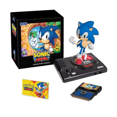 Jogo Sonic Mania (Collectors Edition) - PS4