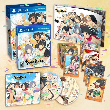 Jogo Senran Kagura: Estival Versus (Endless Summer Edition) - PS4