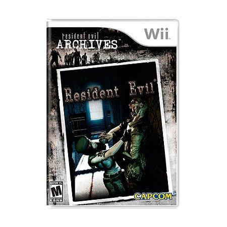 Jogo Resident Evil Archives - Wii