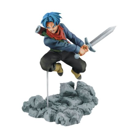 Action Figure Trunks Dragon Ball Super - Soul x Soul - Banpresto