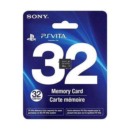 Cartão de Memória Sony 32 GB - PS Vita