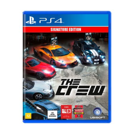 Jogo The Crew (Signature Edition) - PS4