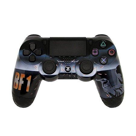 Controle Dualshock 4 Battlefield 1 sem fio - Casual - PS4