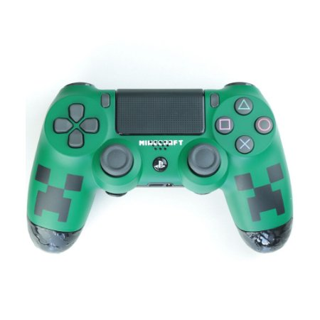 Controle Dualshock 4 Minecraft sem fio - Alta Performance - PS4