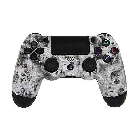 Controle Dualshock 4 White Dust sem fio - Casual - PS4