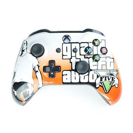 Controle GTA 5 Trevor sem fio - Casual - Xbox One