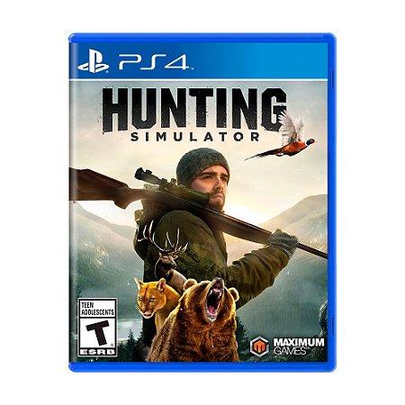 Jogo Hunting Simulator - PS4