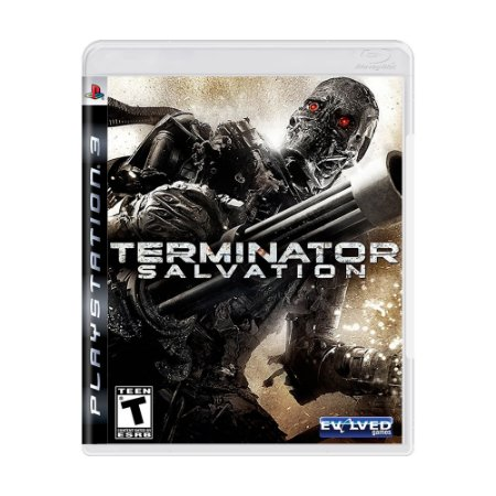 Jogo Terminator Salvation - PS3