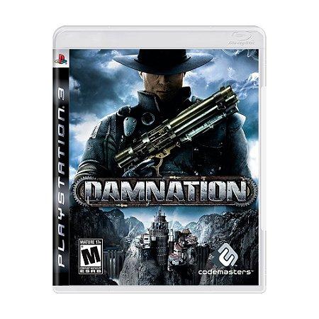 Jogo Damnation - PS3