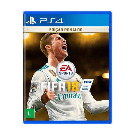 Jogo FIFA 18 (Edição Ronaldo) - PS4