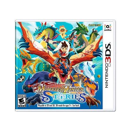 Jogo Monster Hunter Stories - 3DS