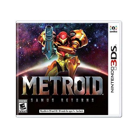 Jogo Metroid: Samus Returns - 3DS