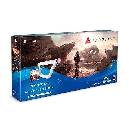 Bundle Farpoint + Aim Controller - PS4 - PS4 VR
