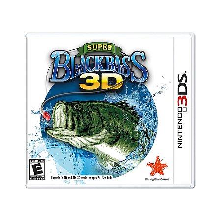 Jogo Super Black Bass 3D - 3DS