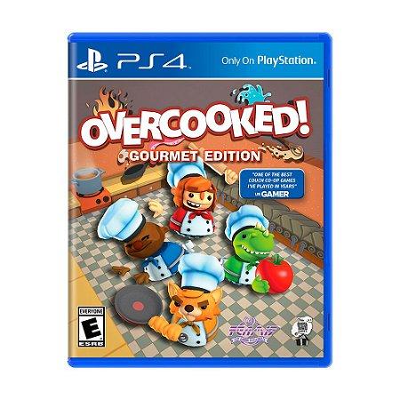Jogo Overcooked (Gourmet Edition) - PS4