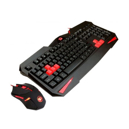 Kit Teclado e Mouse Gamer S101 - Redragon