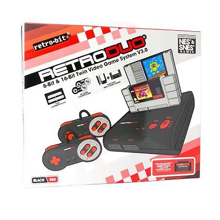 Console Retro Duo V3.0 8-16 Bits para NES e SNES - Retro-Bit