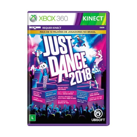 Jogo Just Dance 2018 - Xbox 360