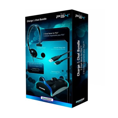 Charge + Chat Bundle dreamGEAR - PS4
