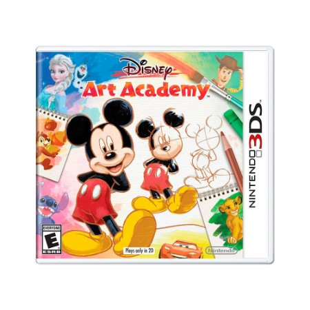 Jogo Disney Art Academy - 3DS