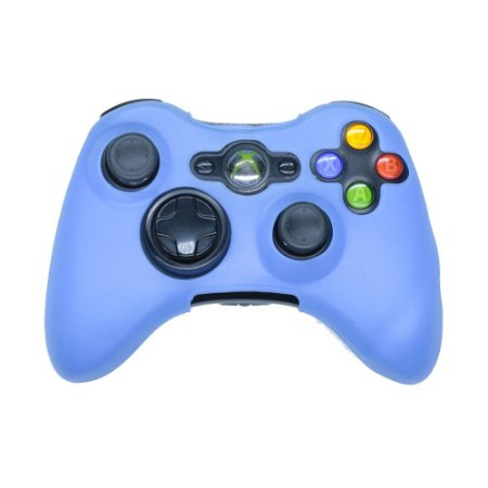 Capa de Silicone Azul para Controle - Xbox 360