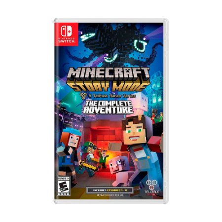 Jogo Minecraft: Story Mode (Episódios 1 - 8) - Switch