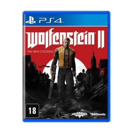 Jogo Wolfenstein II: The New Colossus - PS4