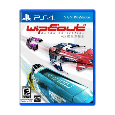Jogo Wipeout Omega Collection - PS4