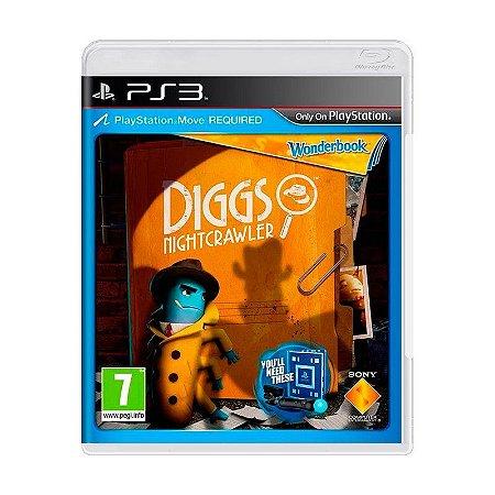 Jogo Wonderbook: Diggs Nitghtcrawler (Apenas Jogo) - PS3