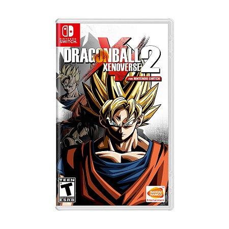 Jogo Dragon Ball Xenoverse 2 - Switch