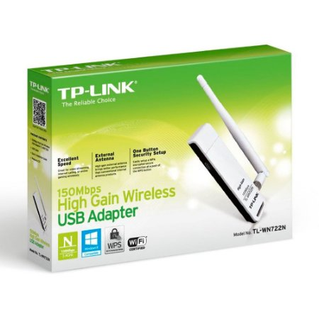 Adaptador USB Tp-Link TL-WN722N Wireless - 150 MBPS
