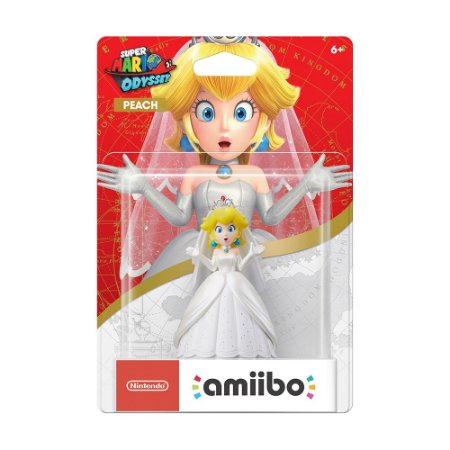 Nintendo Amiibo: Peach (Wedding Outfit) - Super Mario Odyssey