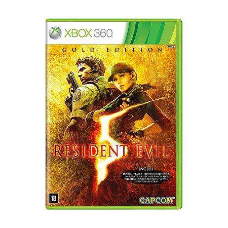 Jogo Resident Evil 5 (Gold Edition) - Xbox 360