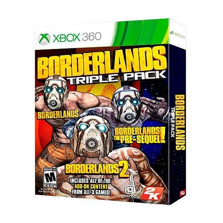 Jogo Borderlands Triple Pack - Xbox 360