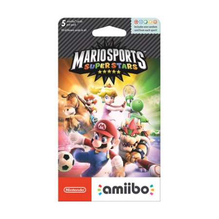 Cartão Nintendo Amiibo - Mario Sports Superstars